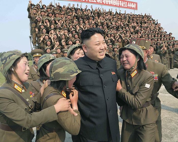 کیم جونگ اون رهبر فعلی کره شمالی