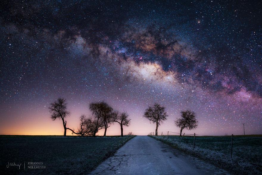 عکس های چشم نواز از آسمان پرستاره