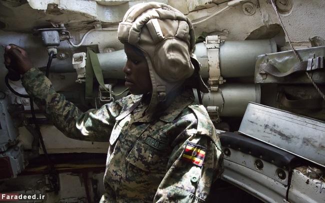 دختران جنگجوی تانک سوار
