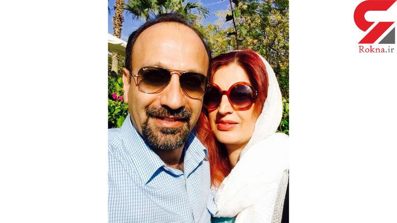 سلفی اصغر فرهادی و همسرش در جشنواره فیلم آنتالیا