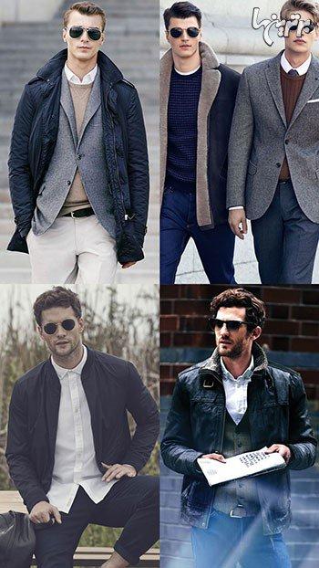 شیک پوشی مردان در پاییز