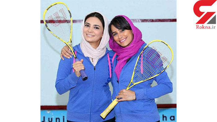 عکسی جالب از لیندا کیانی با لباس ورزشی در باشگاه انقلاب تهران