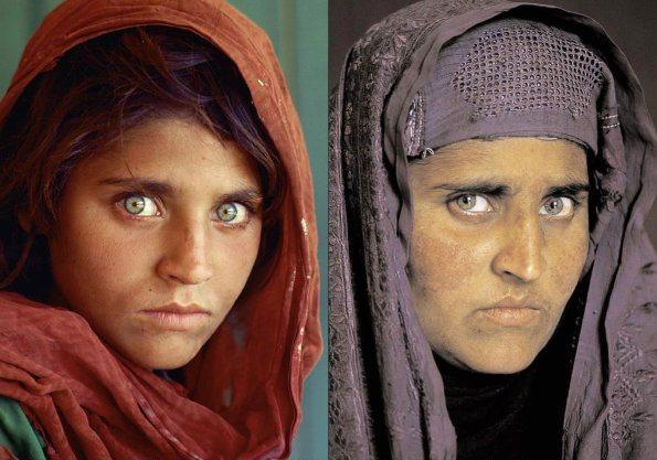مونالیزای افغانستان کیست و چرا در زندان به سر می برد؟ + عکس