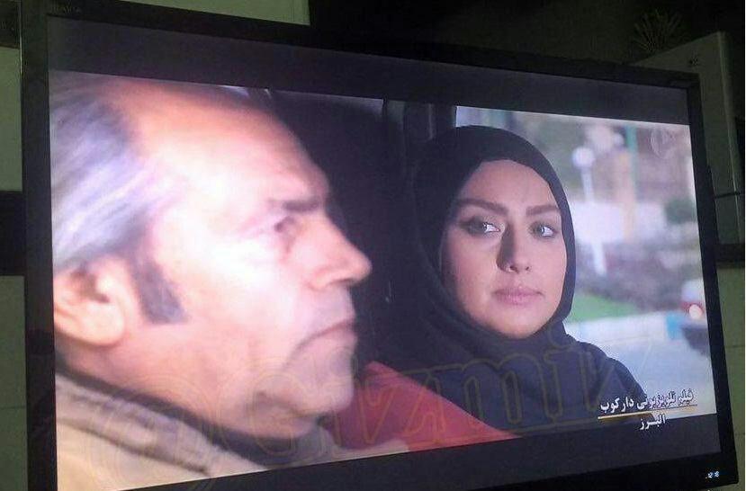 """""""صدف طاهریان""""، بازیگر مهاجرت کرده به جم، در تلویزیون ظاهر شد"""