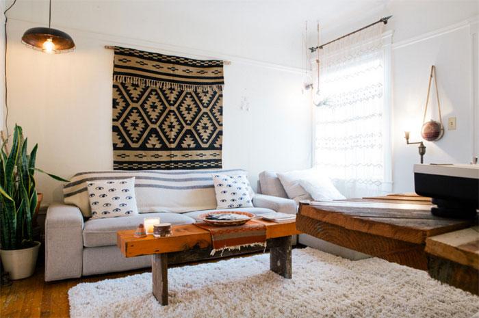 13 ایده ی تزیین دیوار با هزینه اندک برای آپارتمان نشین ها