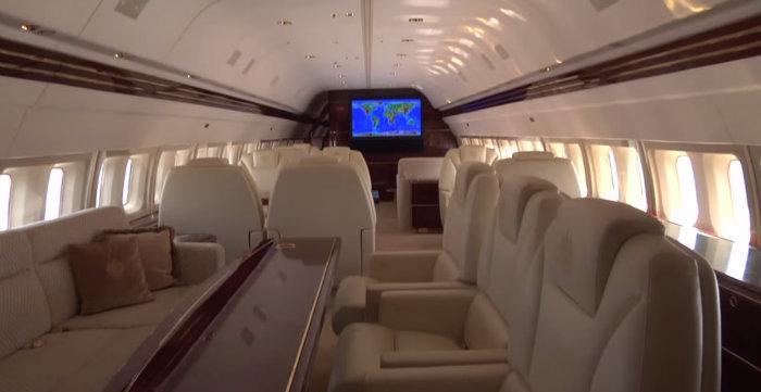هواپیمای 100 میلیون دلاری آقای رئیس جمهور + تصاویر