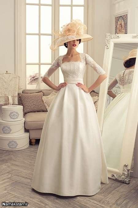 انواع مدل لباس عروس زیبا اسپانیایی 96-2017