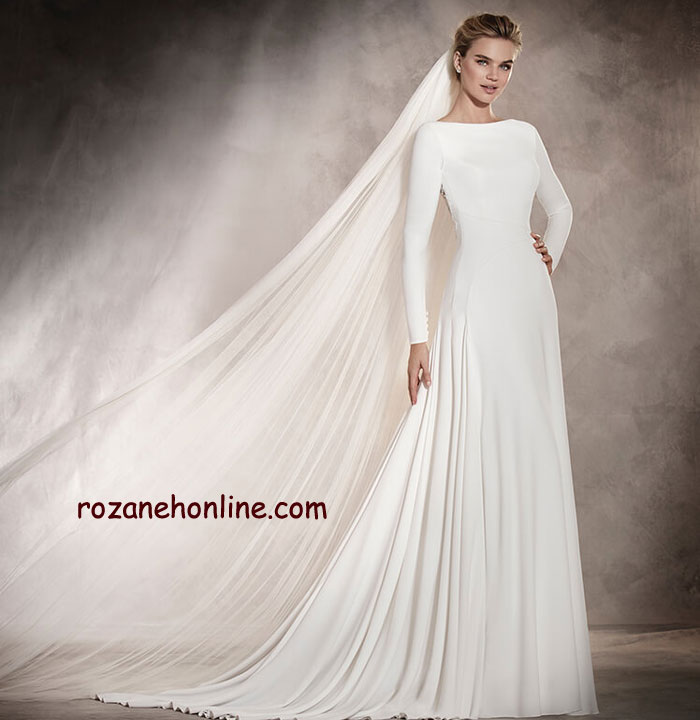 مدل های جدید لباس عروس 2017
