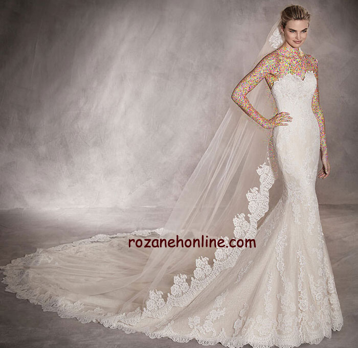 انواع جدید مدل های لباس عروس 2017