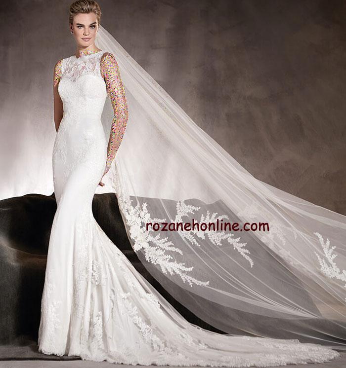 جدیدترین مدل های لباس عروس 2017