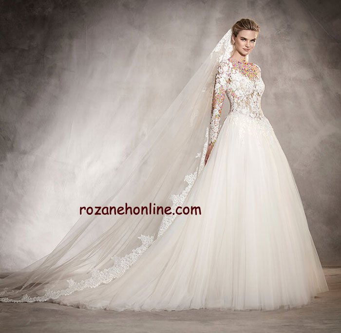 لباس عروس 2017 (سری اول)