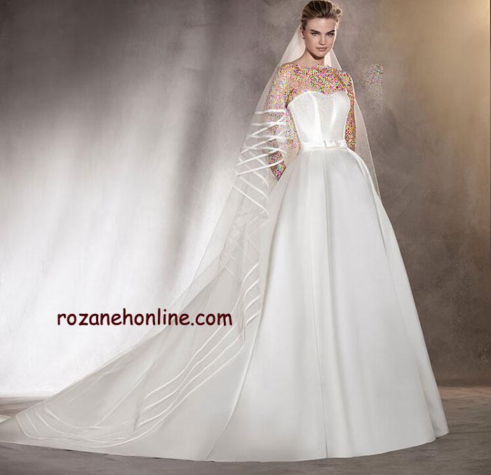 جدیدترین و شیک ترین لباس های عروس 2017