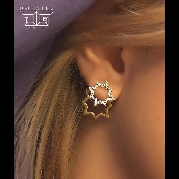 طرح گوشواره طلا زیبا 2017