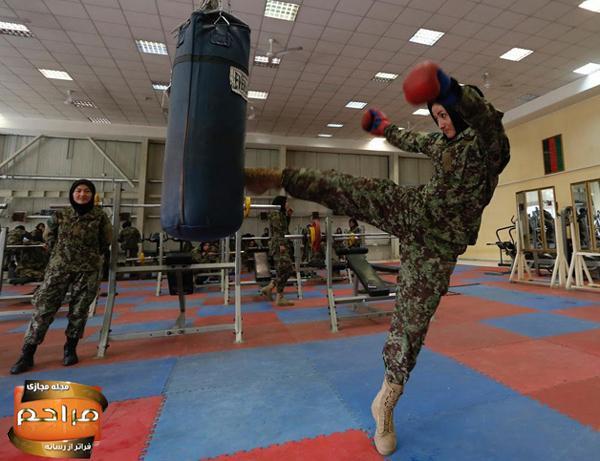 دختران ارتشی افغانستان + تصاویر