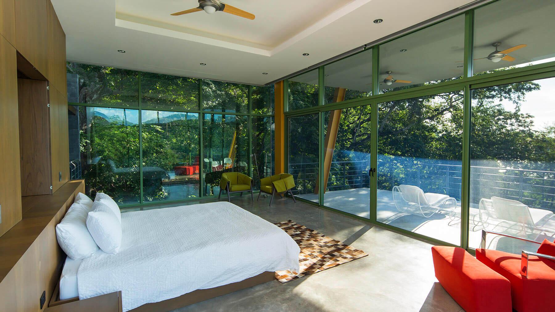 خانه مخفی مجلل با دکوراسیون زیبا در کاستاریکا + تصاویر