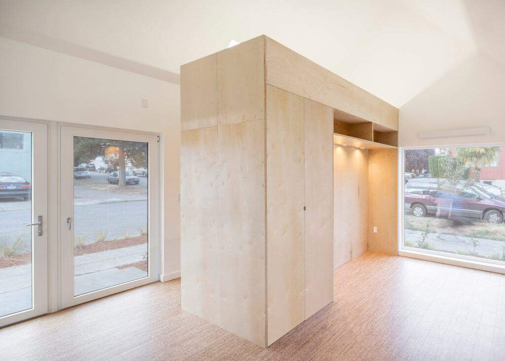 واحدهای مسکونی جدید با نمای خاکستری رنگ و قابل انتقال