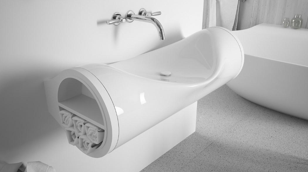 طراحی زیبای سینک دستشویی مدرن و خاص