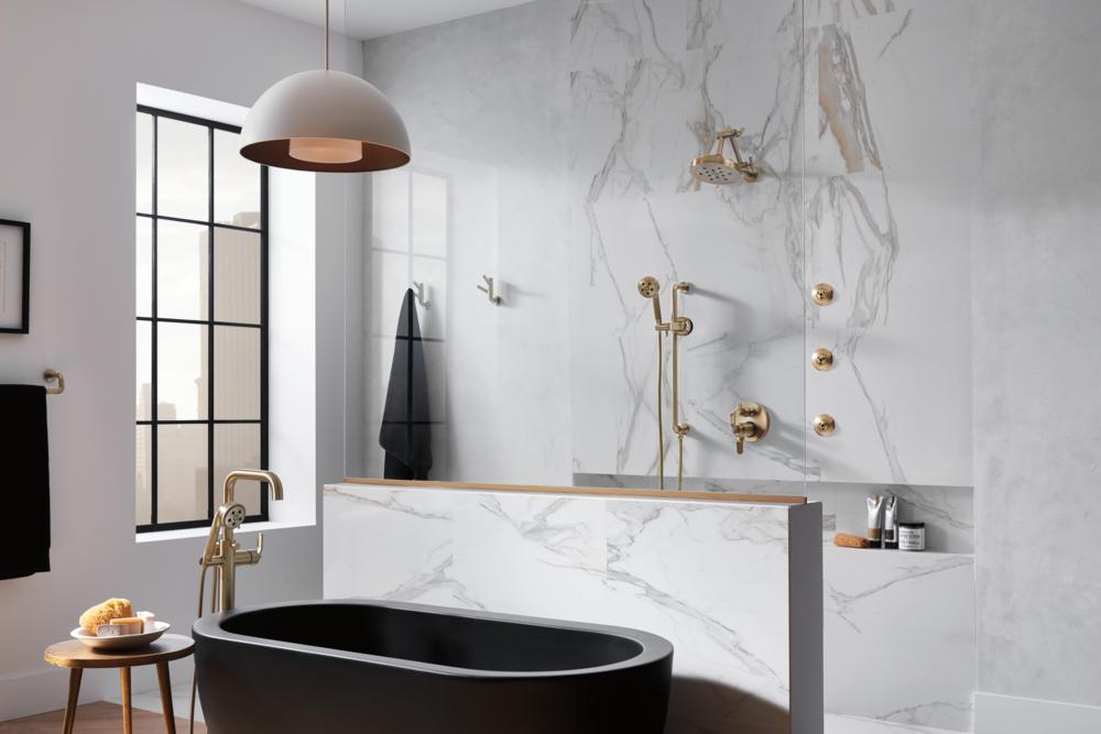 طراحی حمام بسیار مدرن و لوکس توسط موسسه باوهاوس + تصاویر