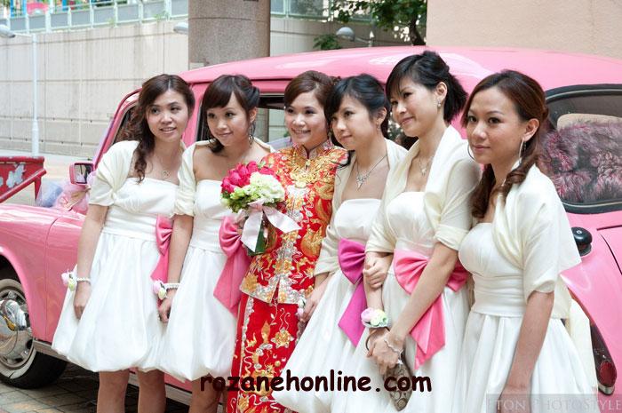 مراسم ازدواج عجیب و غریب در چین