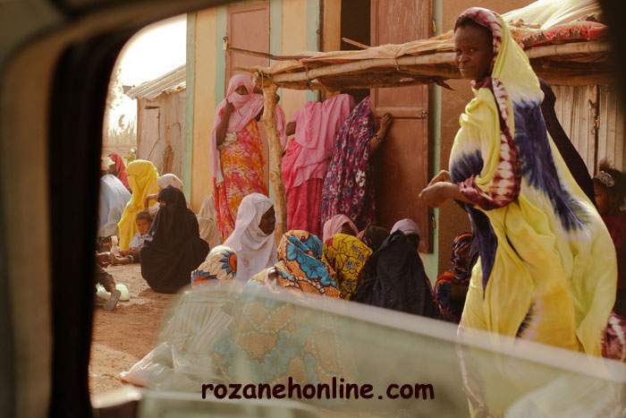مراسم ازدواج عجیب و غریب در موریتانی