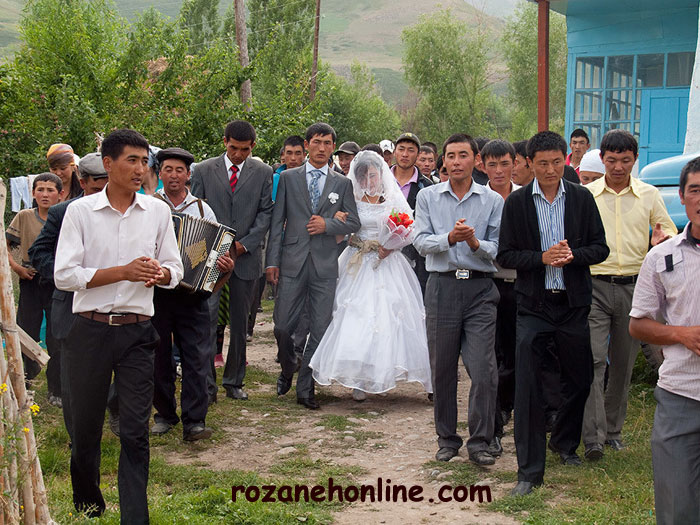 مراسم ازدواج عجیب و غریب در قرقیزستان