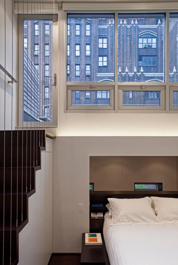 دکوراسیون اتاق زیرشیروانی در نیویورک