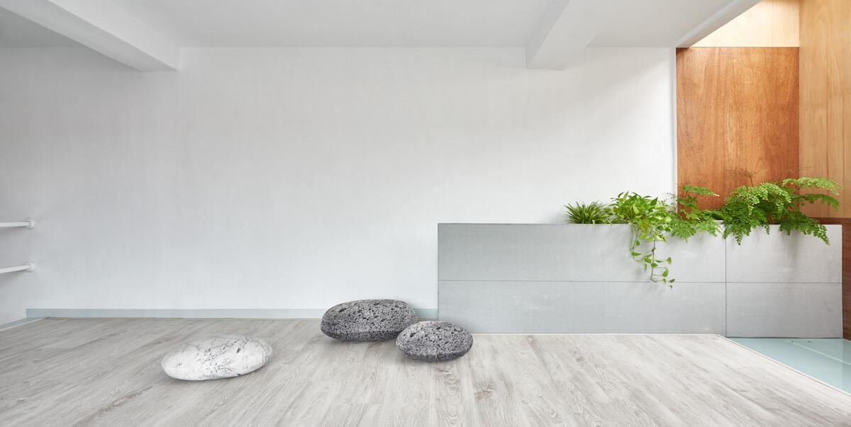 طراحی خانه مینیمالیستی دو و نیم طبقه زیبا در تایوان