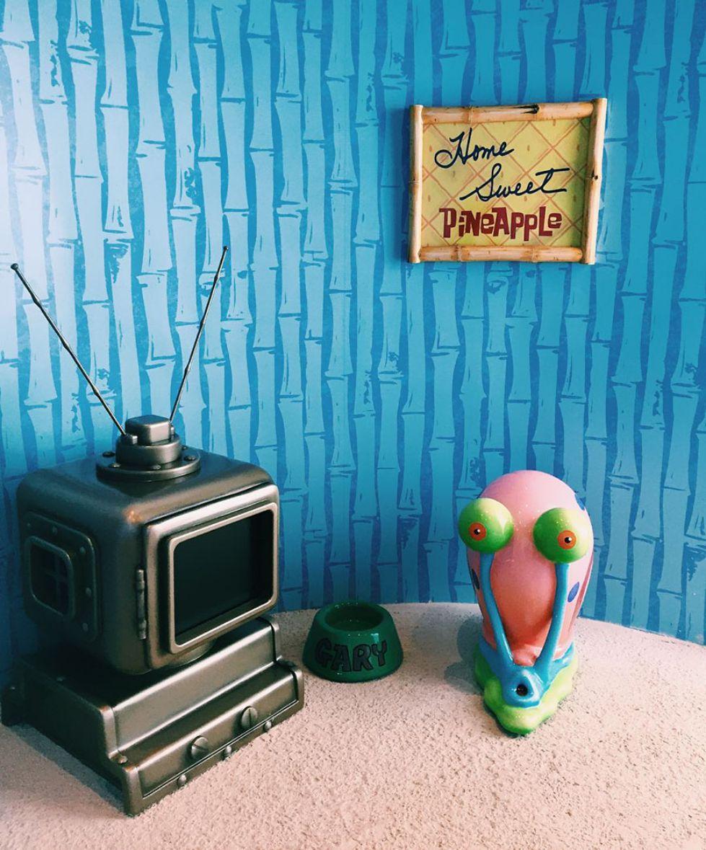 ویلای فانتزی و جالب آناناسی برای طرفداران باب اسفنجی