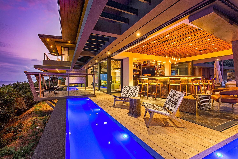 خانه ای با طراحی خلاقانه و زیبا در آفریقای جنوبی + تصاویر