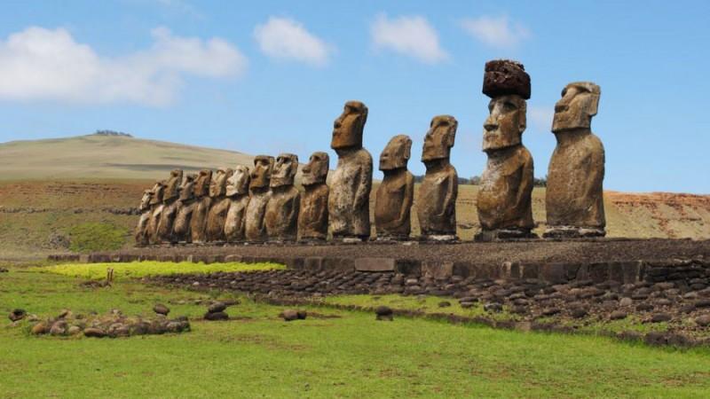 مجسمههای موآیی | شیلی