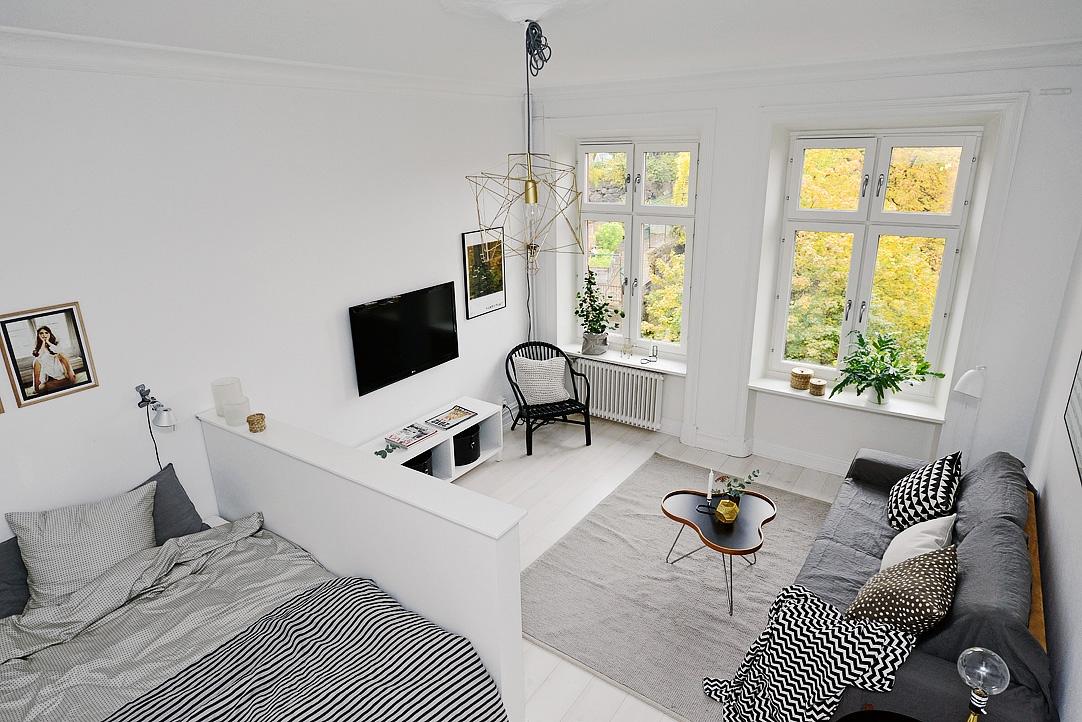 ایده های جالب برای دکوراسیون آپارتمان های کوچک