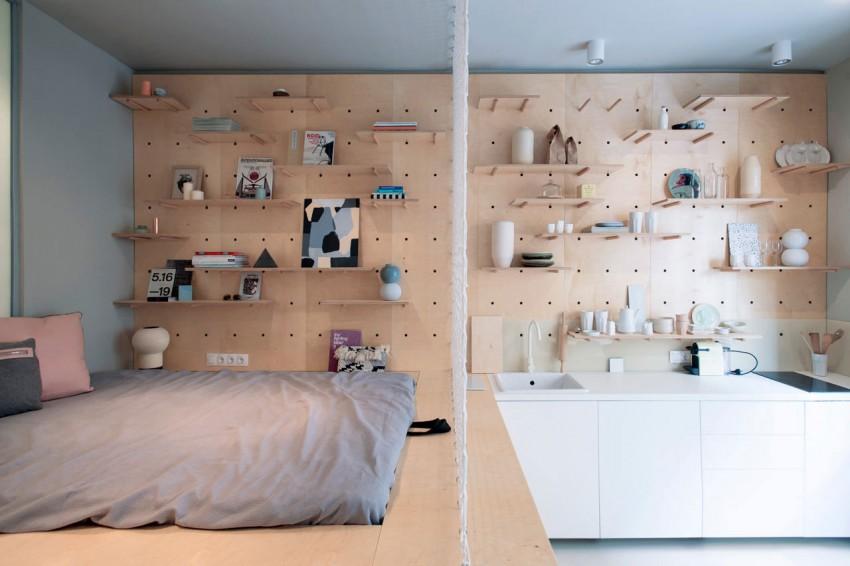 ایده های جالب برای طراحی آپارتمان های کوچک + تصاویر