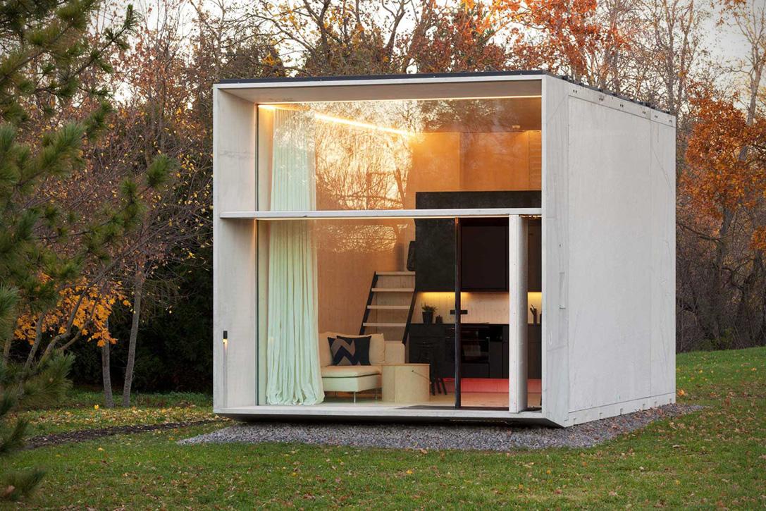 طراحی خلاقانه خانه بسیار کوچک در استونی + تصاویر