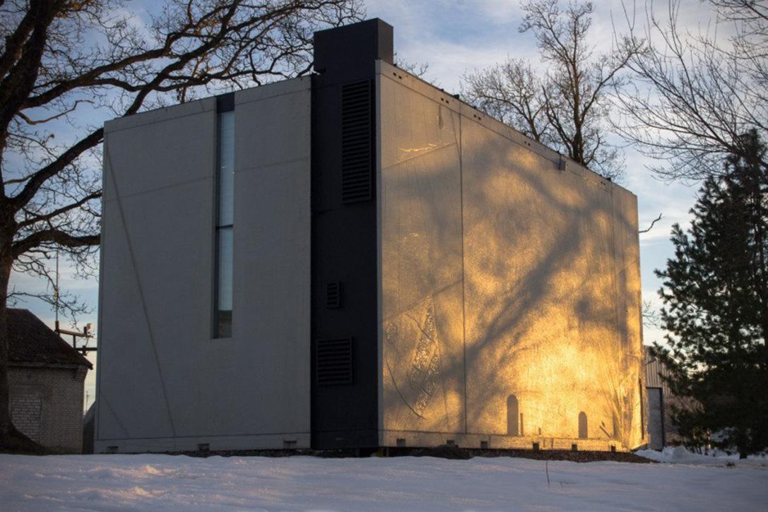 طراحی خلاقانه خانه بسیار کوچک در استونی