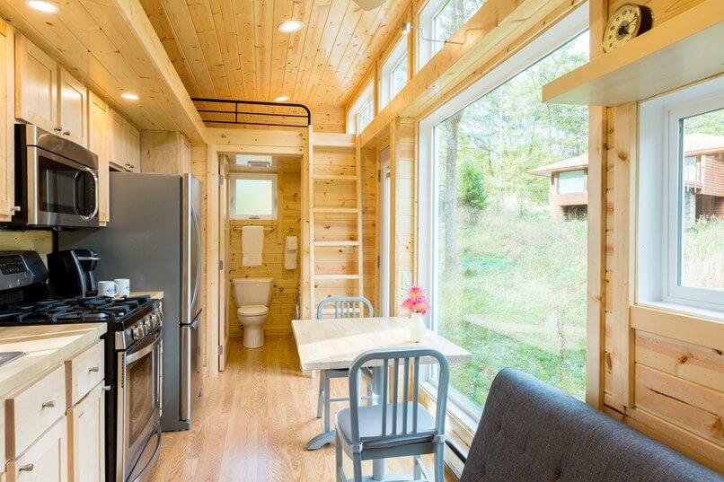 خانه متحرک زیبا و کوچک در کارولینای شمالی
