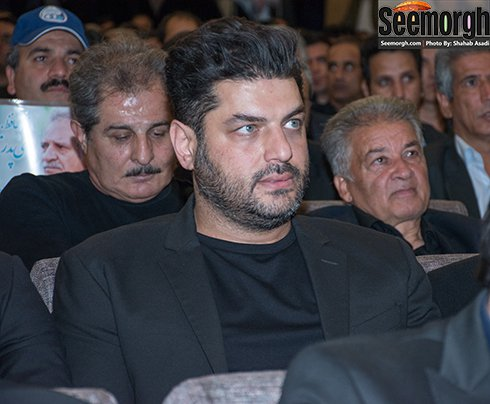 بازیگران مشهور در مراسم ختم منصور پورحیدری + تصاویر