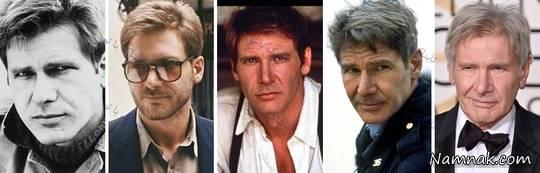 هریسون فورد 1978, 1980, 1985, 1997, 2016