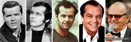 جک نیکلسون 1960, 1970, 1976, 1986, 2012