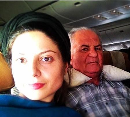 سولماز غنی و پدرش