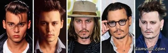تغییر چهره جالب بازیگران مشهور هالیوود از جوانی تا امروز + تصاویر