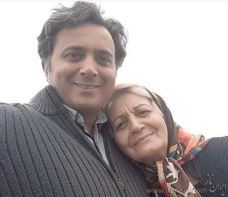 مجید اخشابی و مادرش