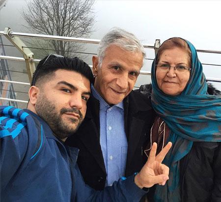 مجید خراطها و پدرو مادرش