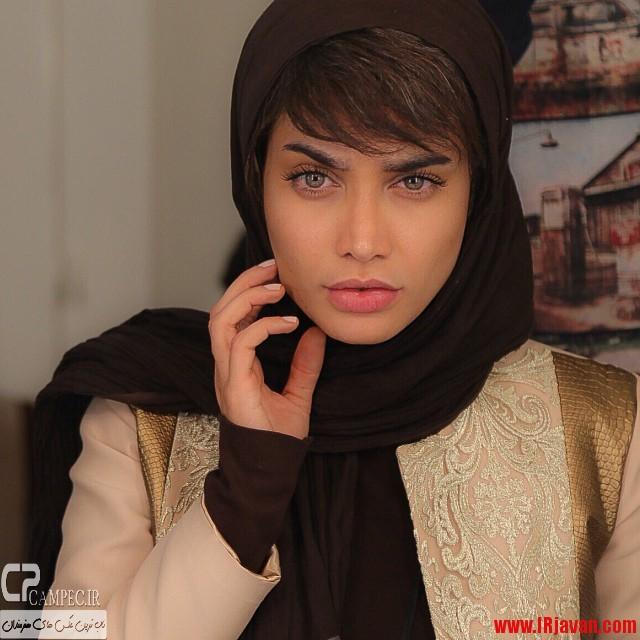 جدیدترین عکس بدون آرایش تینا آخوند تبار، هنرپیشه ایرانی