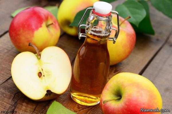 سرکه سیب برای درمان خارش واژن