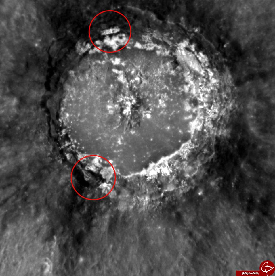 کشف ساختمان عظیم و برج سیاه 8 هزار متری در در سیاره عطارد