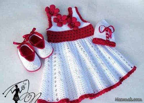 انواع مدل لباس بافتنی دخترانه شیک و زیبا