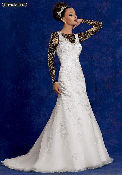 انواع مدل لباس عروس اروپایی ساده و شیک