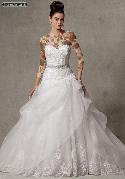 گالری لباس عروس اروپایی شیک و زیبا