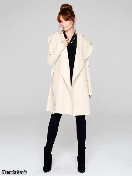 انواع مدل پالتو بلند دخترانه و زنانه شیک و جدید 2017