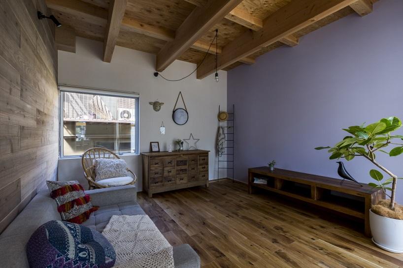 خانه چوبی گرم و دنج در اوجی ژاپن + تصاویر